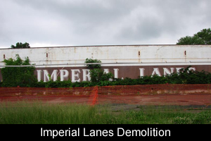 Demolition of Imperial Lanes